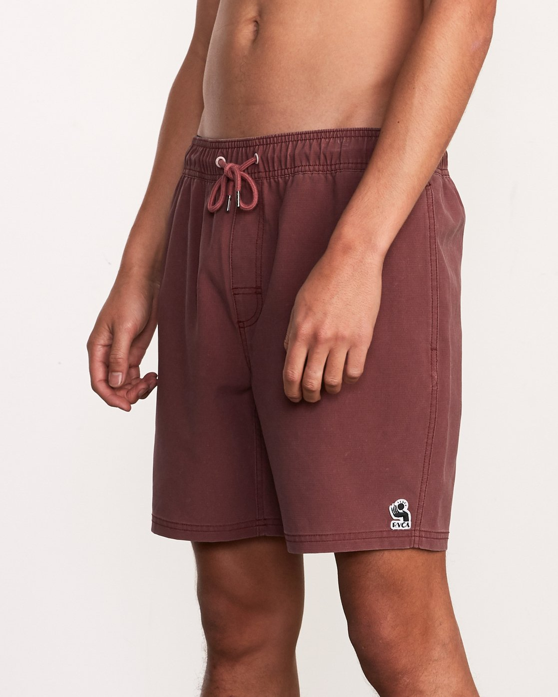"""7 Washer Elastic Short - 17"""" Boardshorts for Men Purple P1VORERVS9 RVCA"""