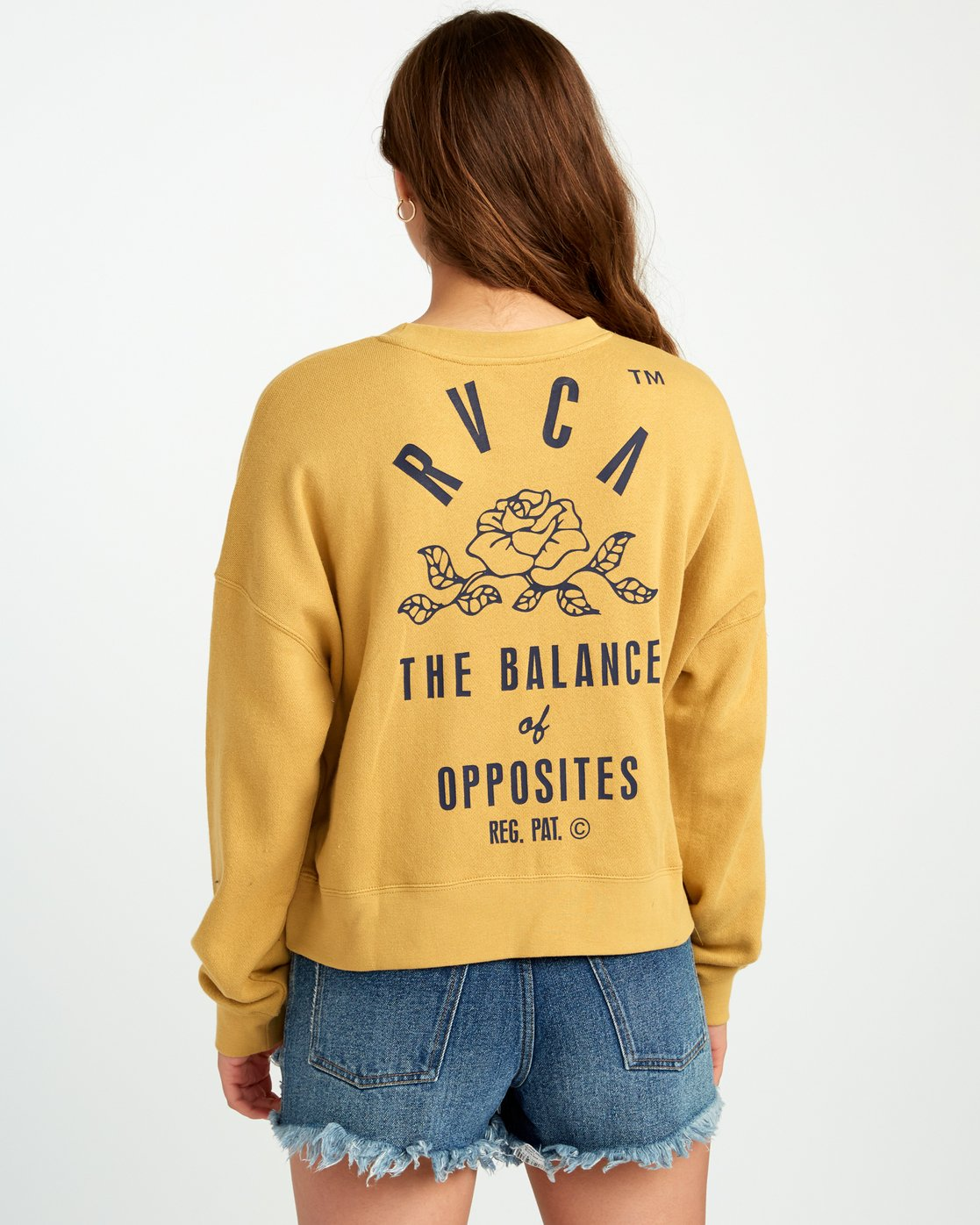 4 Rose State - Sweatshirt for Women Gelb P3CRRARVS9 RVCA