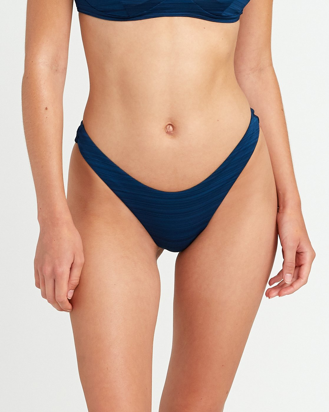 3 Rowan Skimpy Bikini Bottoms Blue P3SBRPRVS9 RVCA
