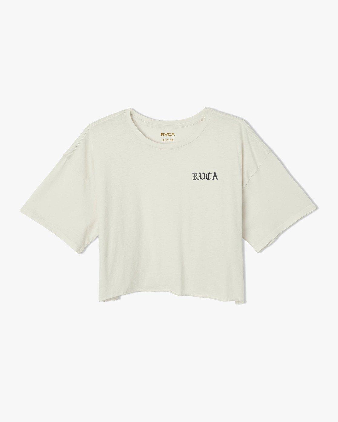 5 Beware Ss T-Shirt White P3SSRBRVS9 RVCA