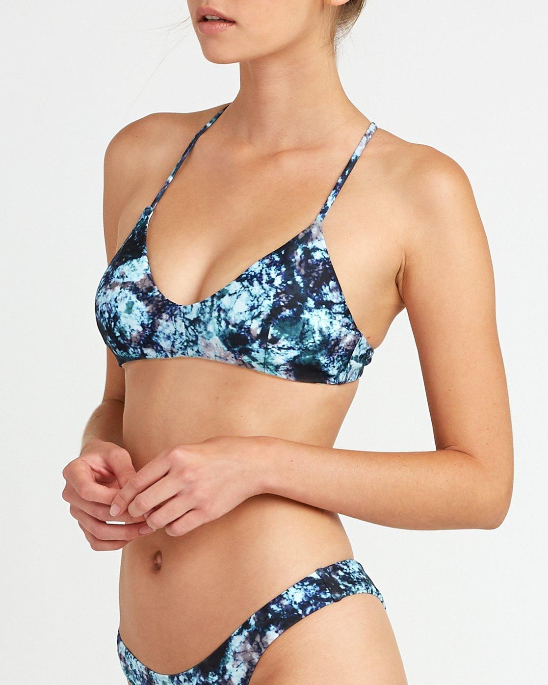 3 Tye Tye - Crossback Bikini Top for Women  P3STRSRVS9 RVCA