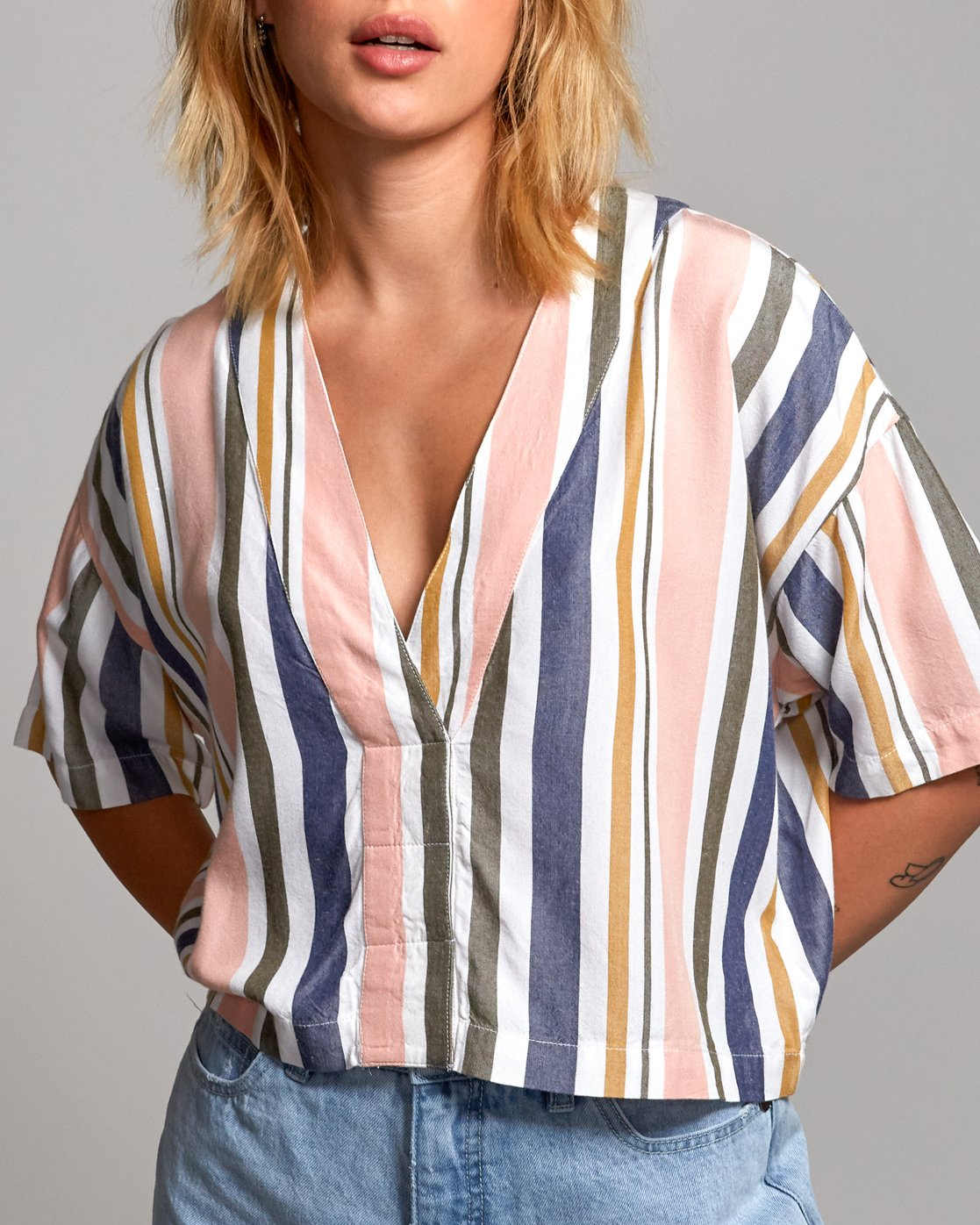 4 Hendrix - Shirt for Women  P3TPRKRVS9 RVCA