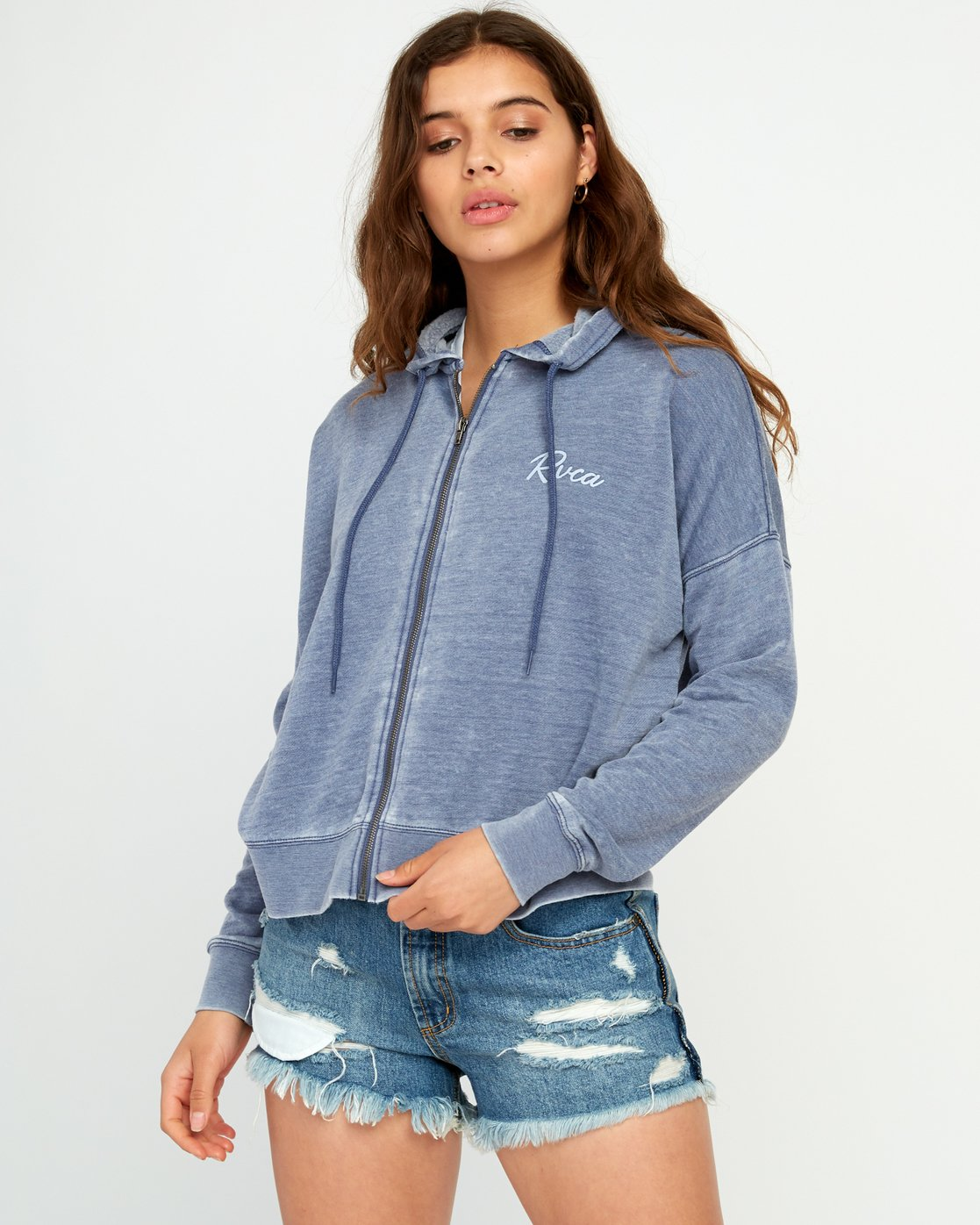 0 Tropicale Hoodie Purple P3ZHRARVS9 RVCA