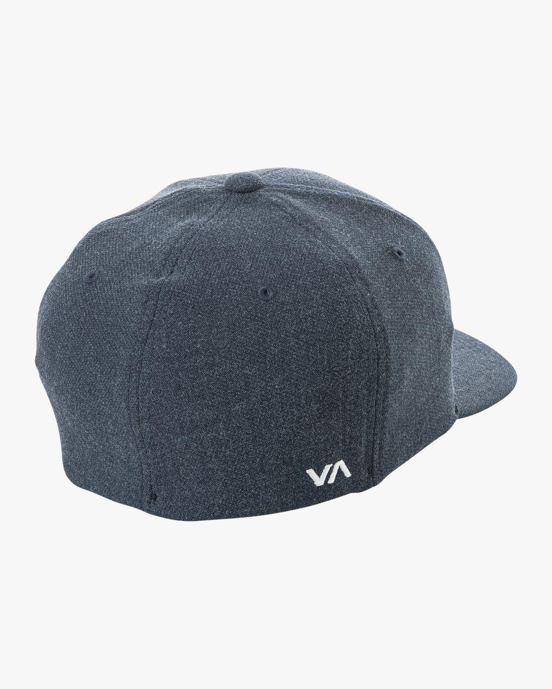 1 Rvca Flex Fit Cap Blue P5CPRIRVS9 RVCA