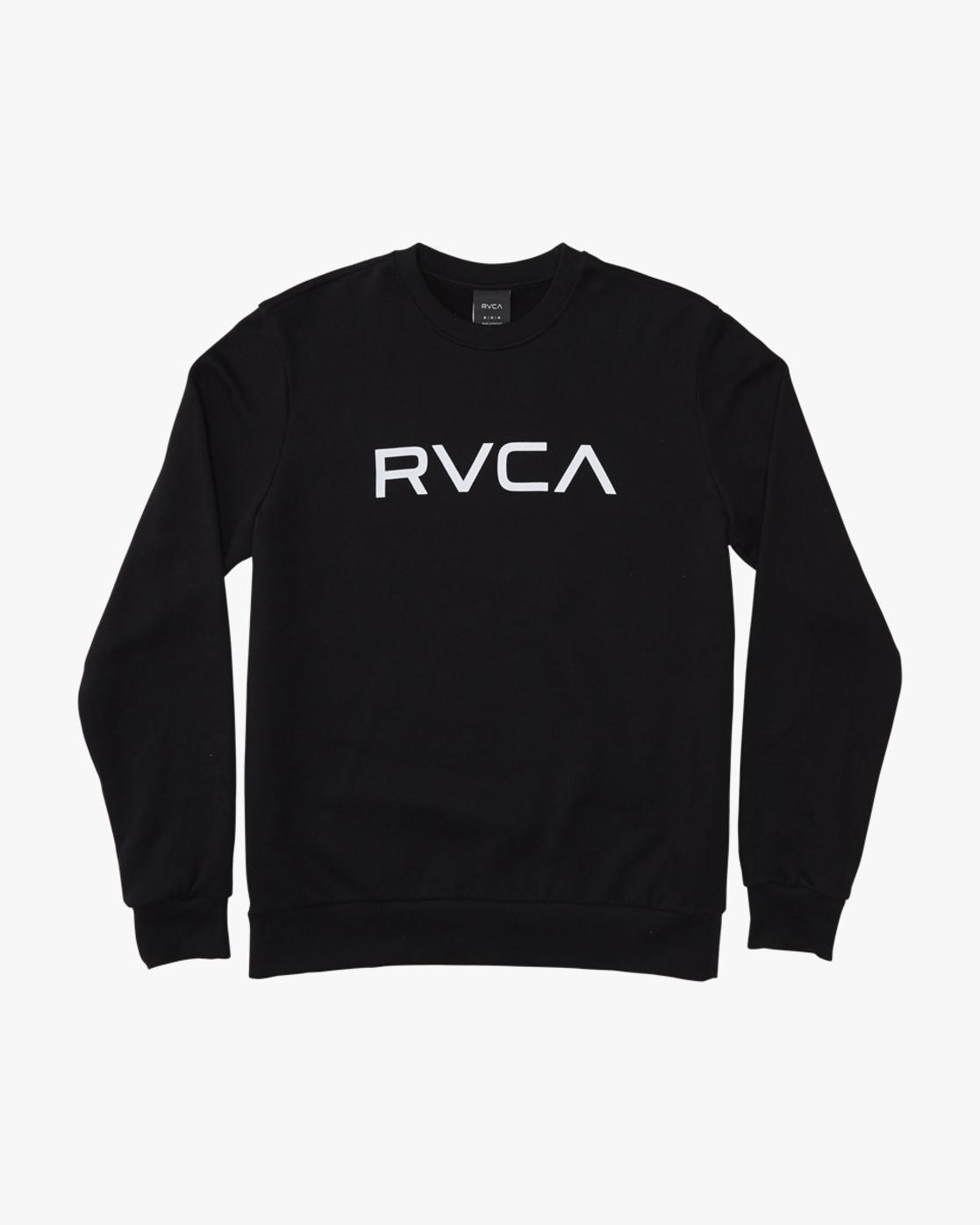 0 Big RVCA - Sweatshirt for Men Black Q1CRRERVF9 RVCA