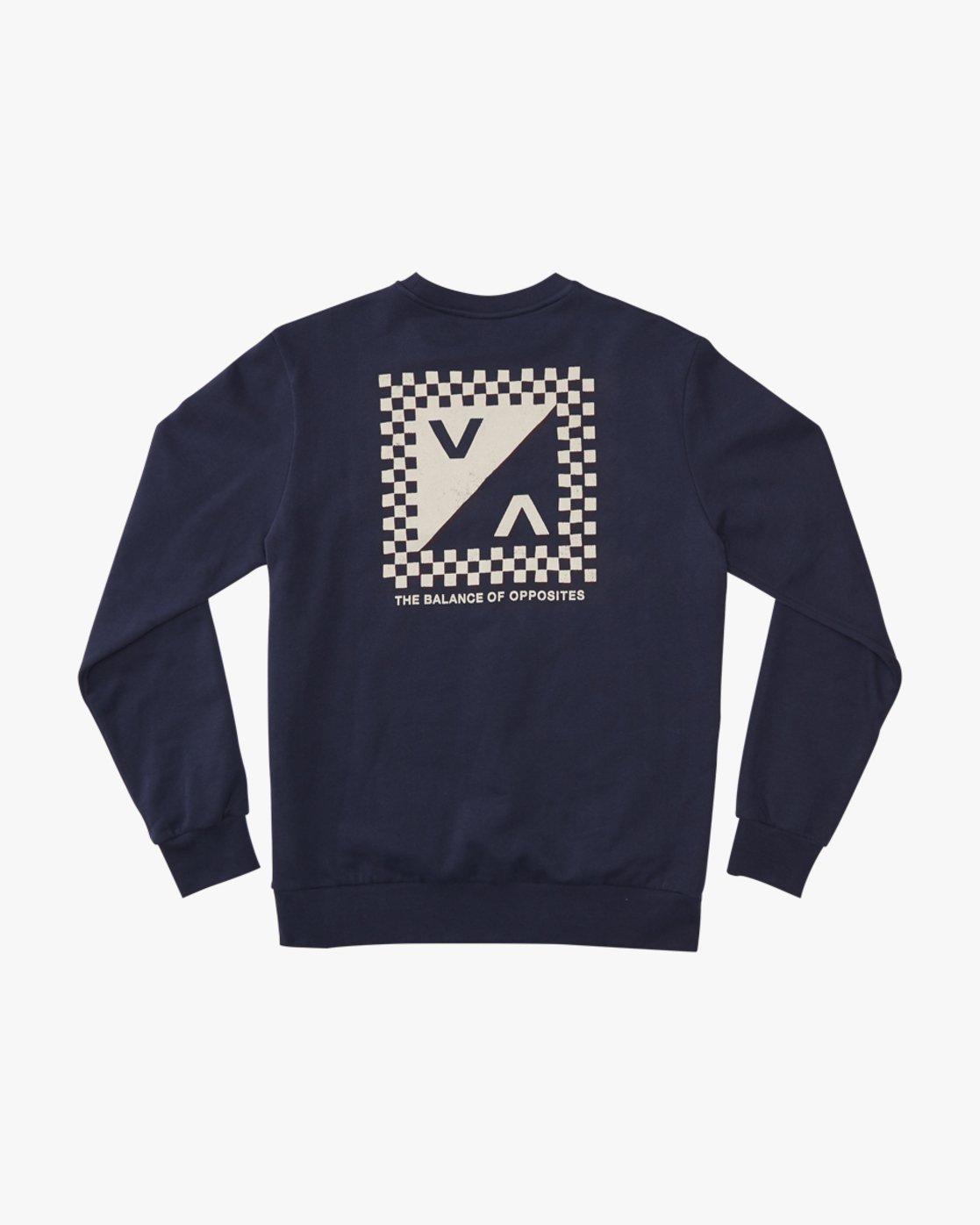 0 Check Mate Crew  - Sweatshirt  Q1CRRGRVF9 RVCA