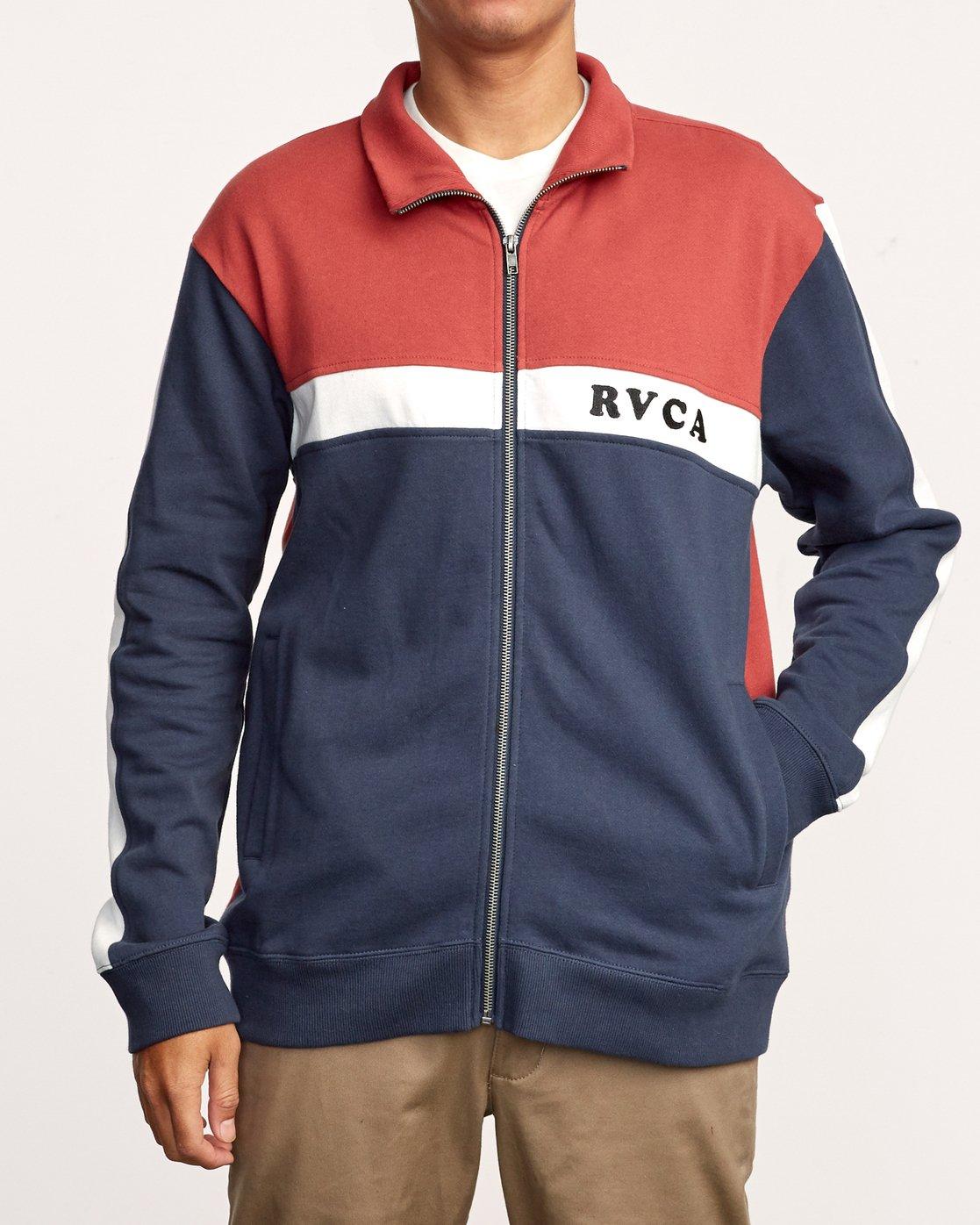 1 Pali Track  - Zip-Up Jacket  Q1FLRARVF9 RVCA