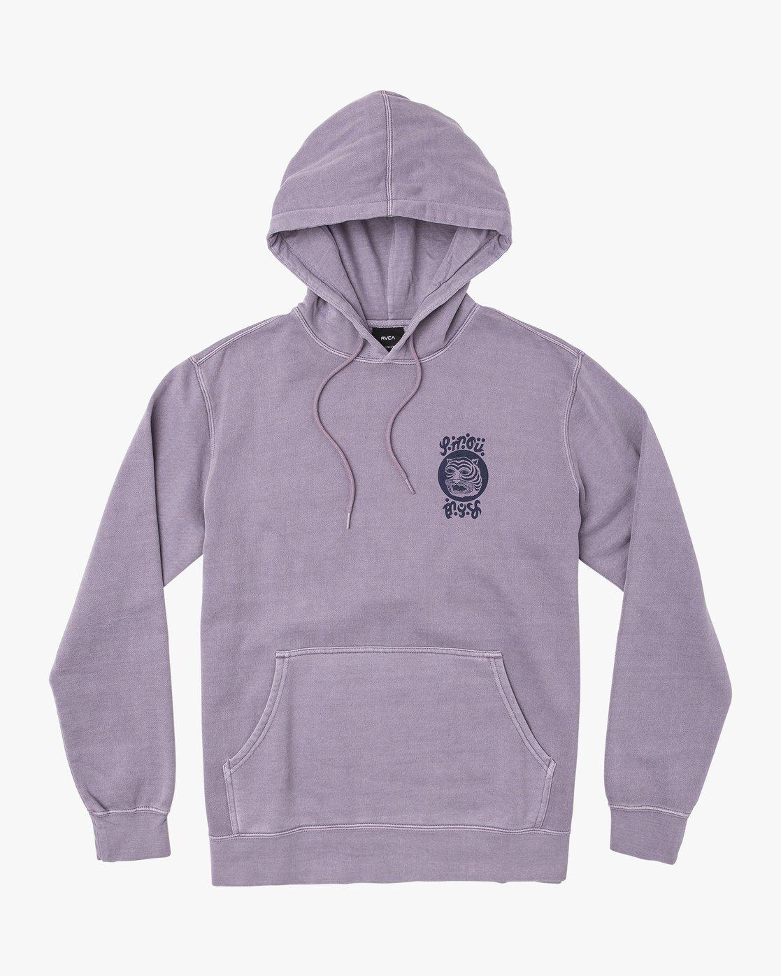 0 Leines Bengal Stack  - Hoodie für Männer  Q1HORGRVF9 RVCA