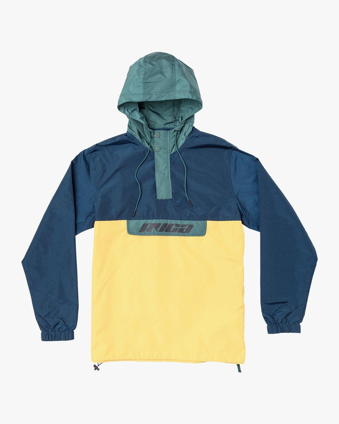 0 Killer - Anorak Jacket for Men Green Q1JKRBRVF9 RVCA