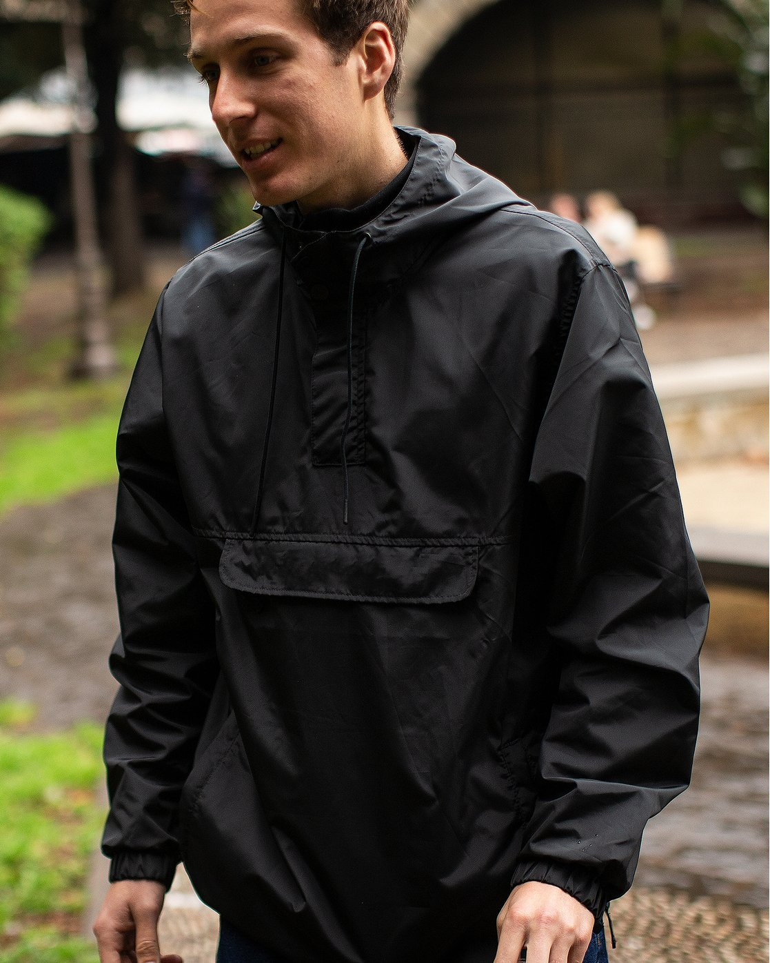 1 Killer - Anorak Jacket for Men Black Q1JKRBRVF9 RVCA