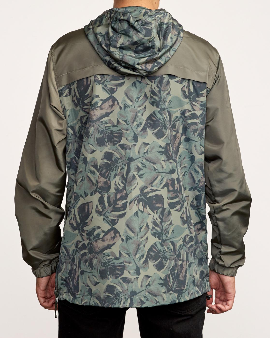 3 Killer - Anorak Jacket for Men Green Q1JKRBRVF9 RVCA