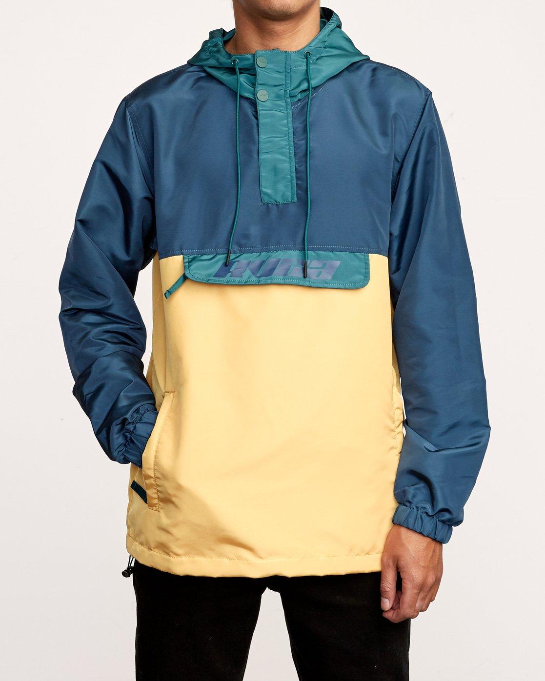 1 Killer - Anorak Jacket for Men Green Q1JKRBRVF9 RVCA