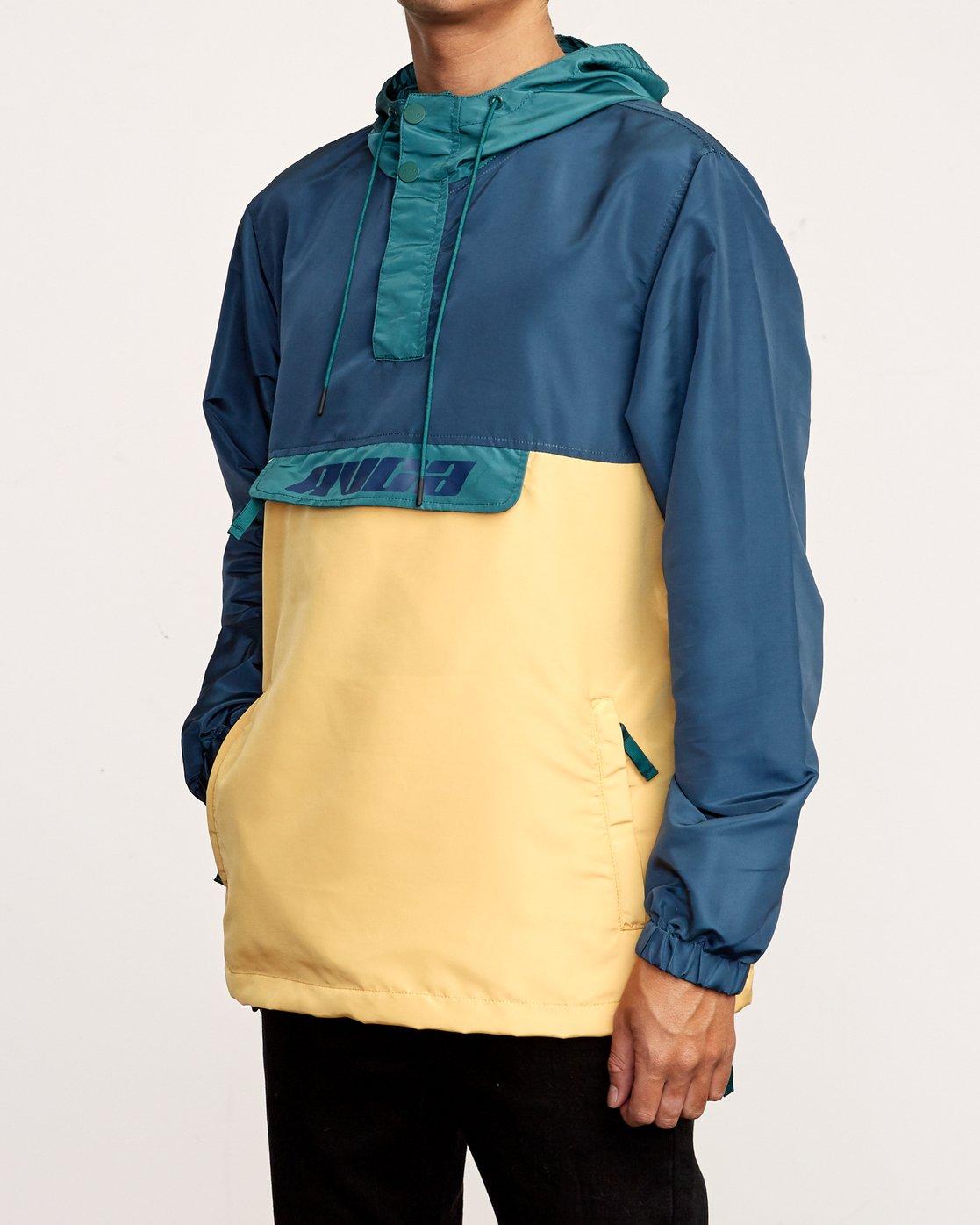 2 Killer - Anorak Jacket for Men Green Q1JKRBRVF9 RVCA