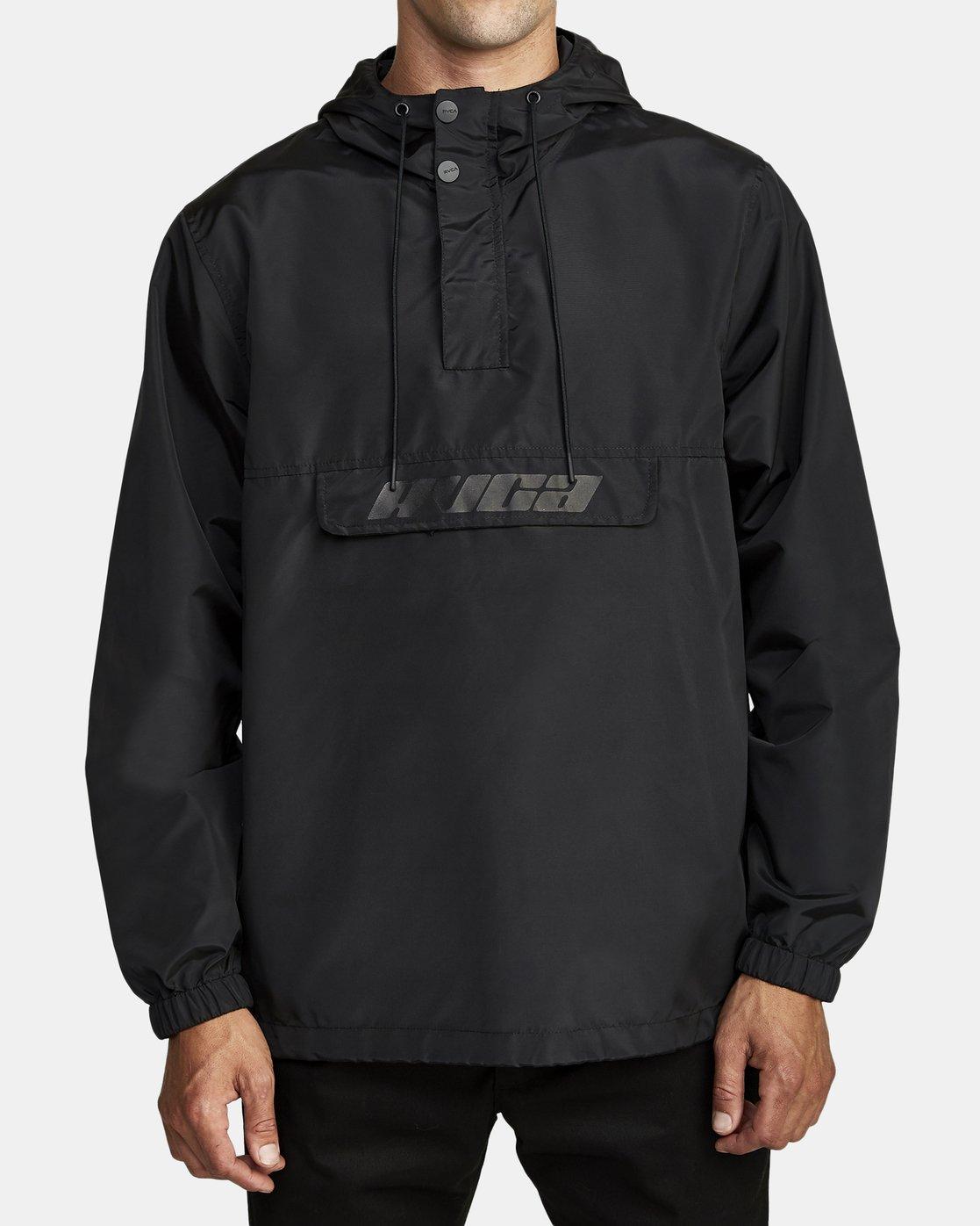 3 Killer - Anorak Jacket for Men Black Q1JKRBRVF9 RVCA