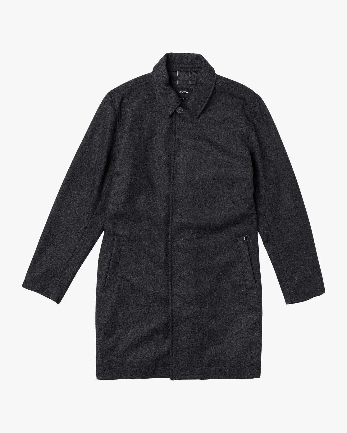 0 Mac  - Wool Coat  Q1JKRCRVF9 RVCA