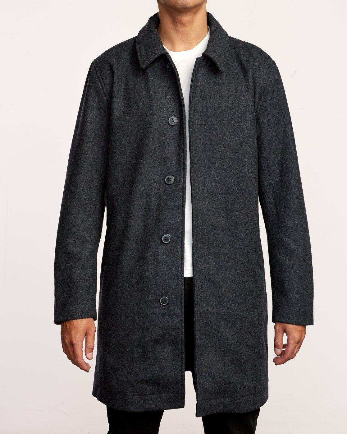 2 Mac  - Wool Coat  Q1JKRCRVF9 RVCA