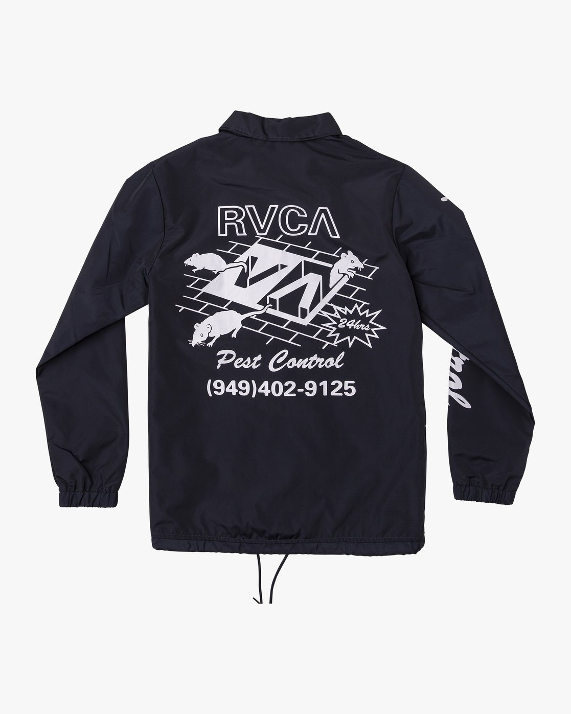 1 Berni Coaches  - Jacket Blue Q1JKRHRVF9 RVCA