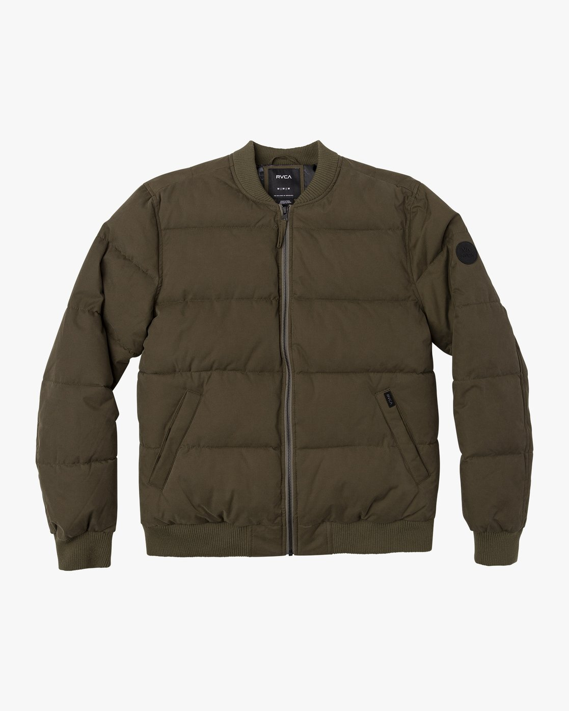 0 Superior Bomber  - Quilted Jacket Green Q1JKRIRVF9 RVCA