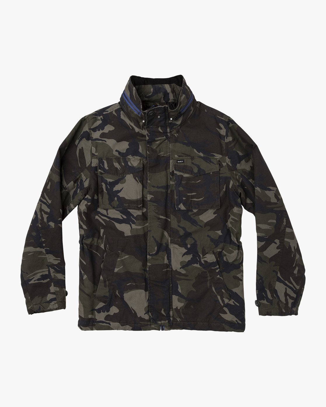0 Field  - Canvas Coat Camo Q1JKRKRVF9 RVCA