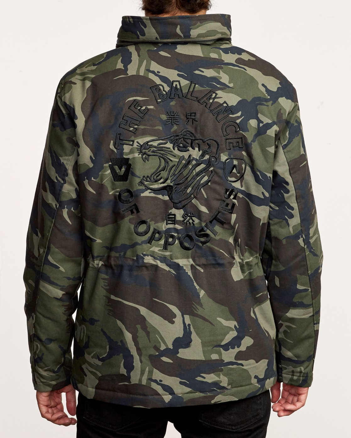 4 Field  - Canvas Coat Camo Q1JKRKRVF9 RVCA