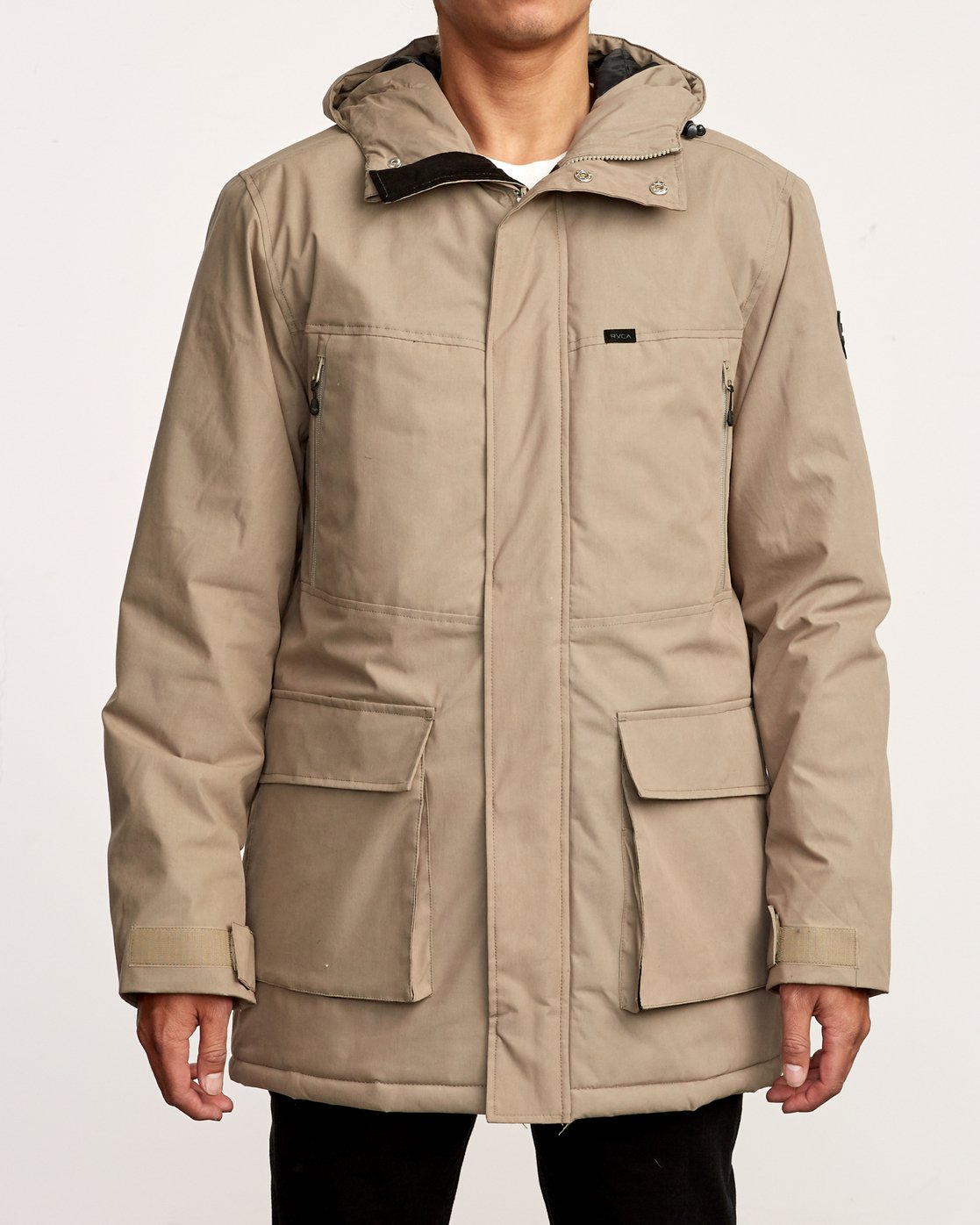 2 Patrol  - Parka-Jacke für Männer Grün Q1JKRLRVF9 RVCA