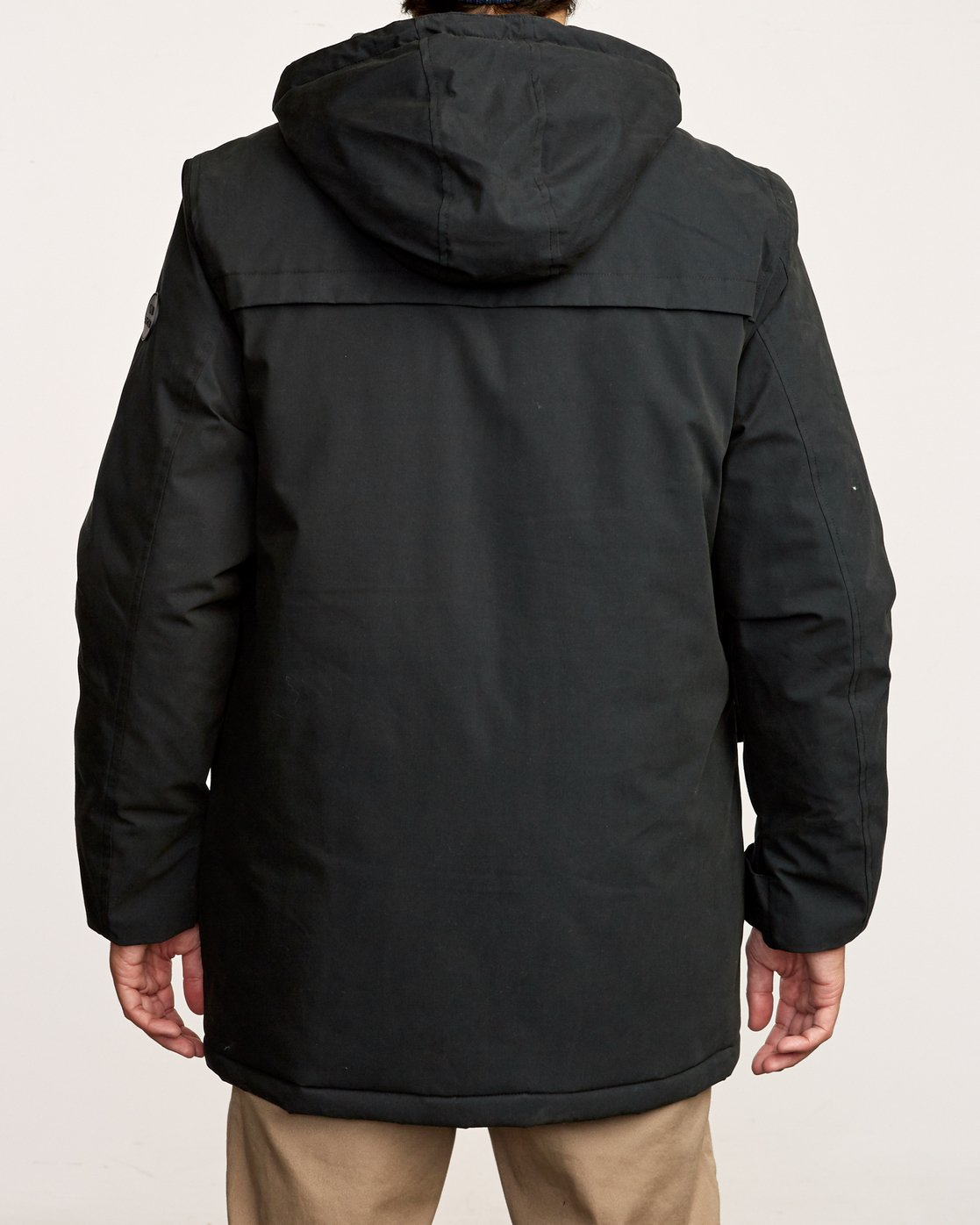 4 Patrol  - Parka Jacket Black Q1JKRLRVF9 RVCA