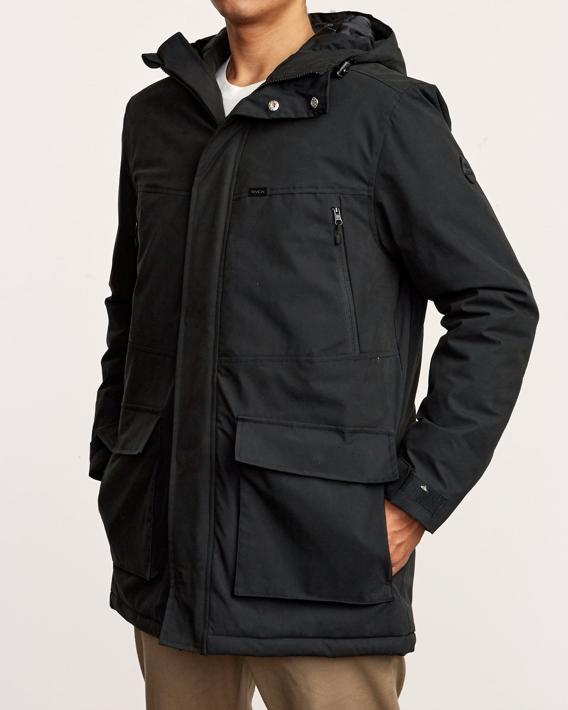 3 Patrol  - Parka Jacket Black Q1JKRLRVF9 RVCA