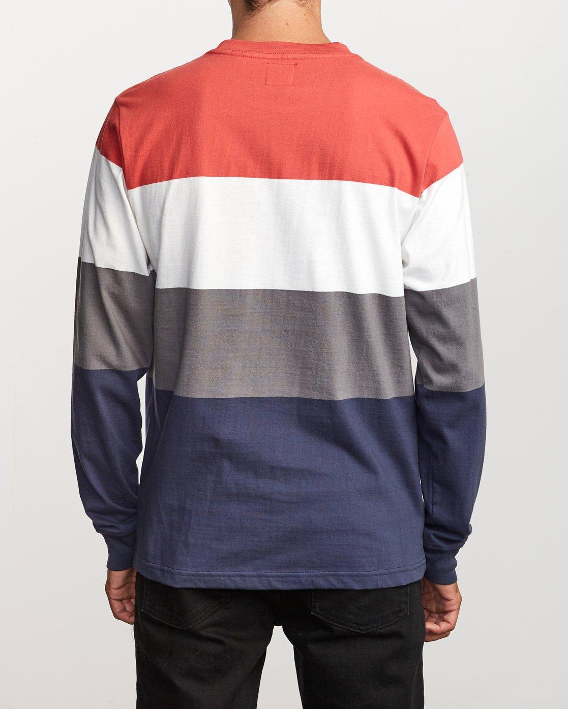 2 Shifty  - Long Sleeve Knit T-Shirt Red Q1KTRJRVF9 RVCA