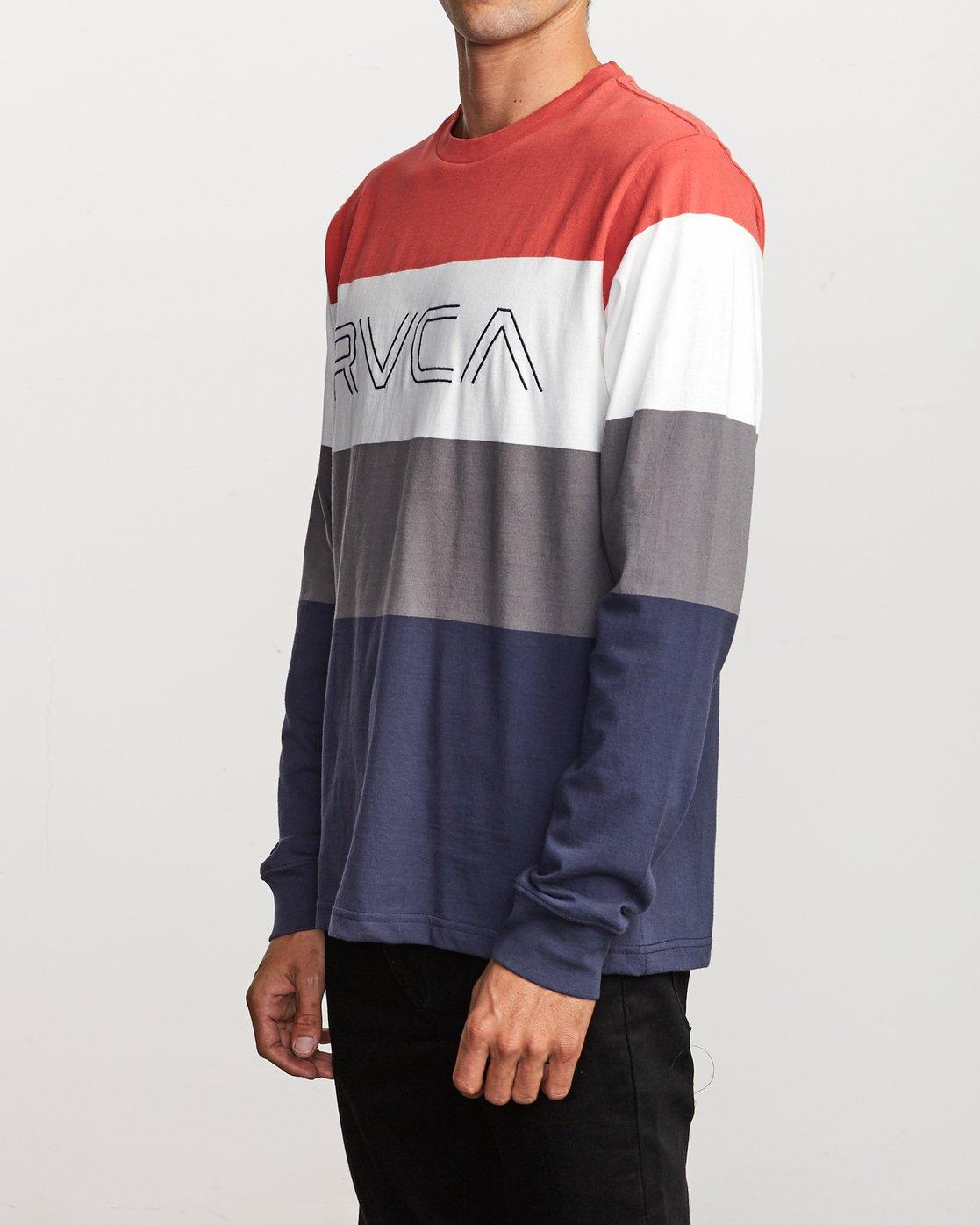 1 Shifty  - Long Sleeve Knit T-Shirt Red Q1KTRJRVF9 RVCA