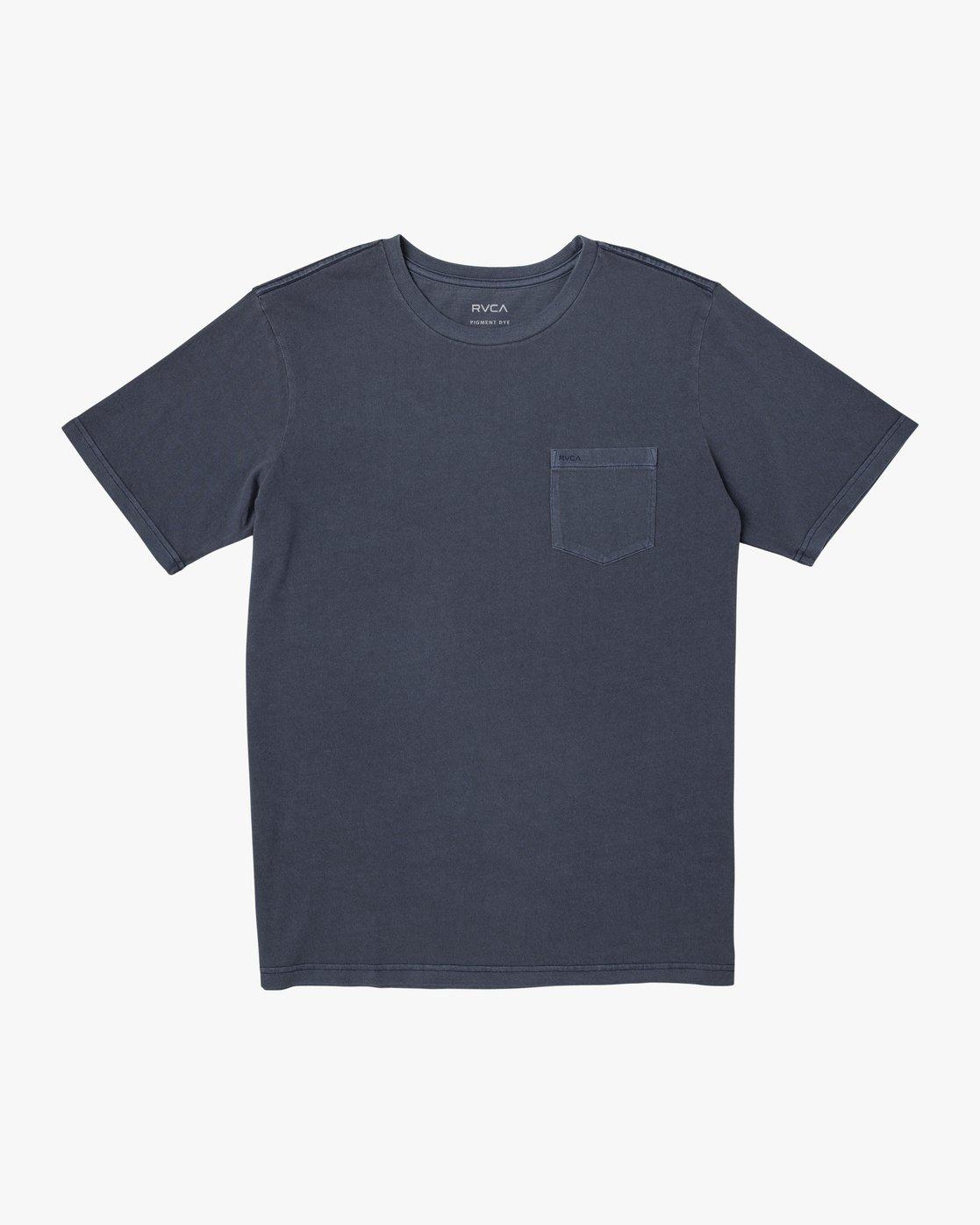 1 Ptc 2 Pigment - Pocket T-Shirt for Men  Q1KTRORVF9 RVCA