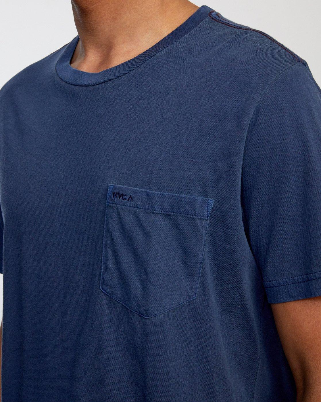 5 Ptc 2 Pigment - Pocket T-Shirt for Men  Q1KTRORVF9 RVCA