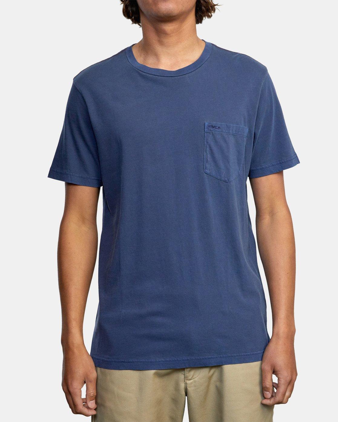 3 Ptc 2 Pigment - Pocket T-Shirt for Men  Q1KTRORVF9 RVCA