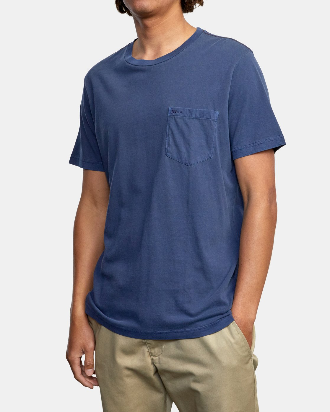 6 Ptc 2 Pigment - Pocket T-Shirt for Men  Q1KTRORVF9 RVCA