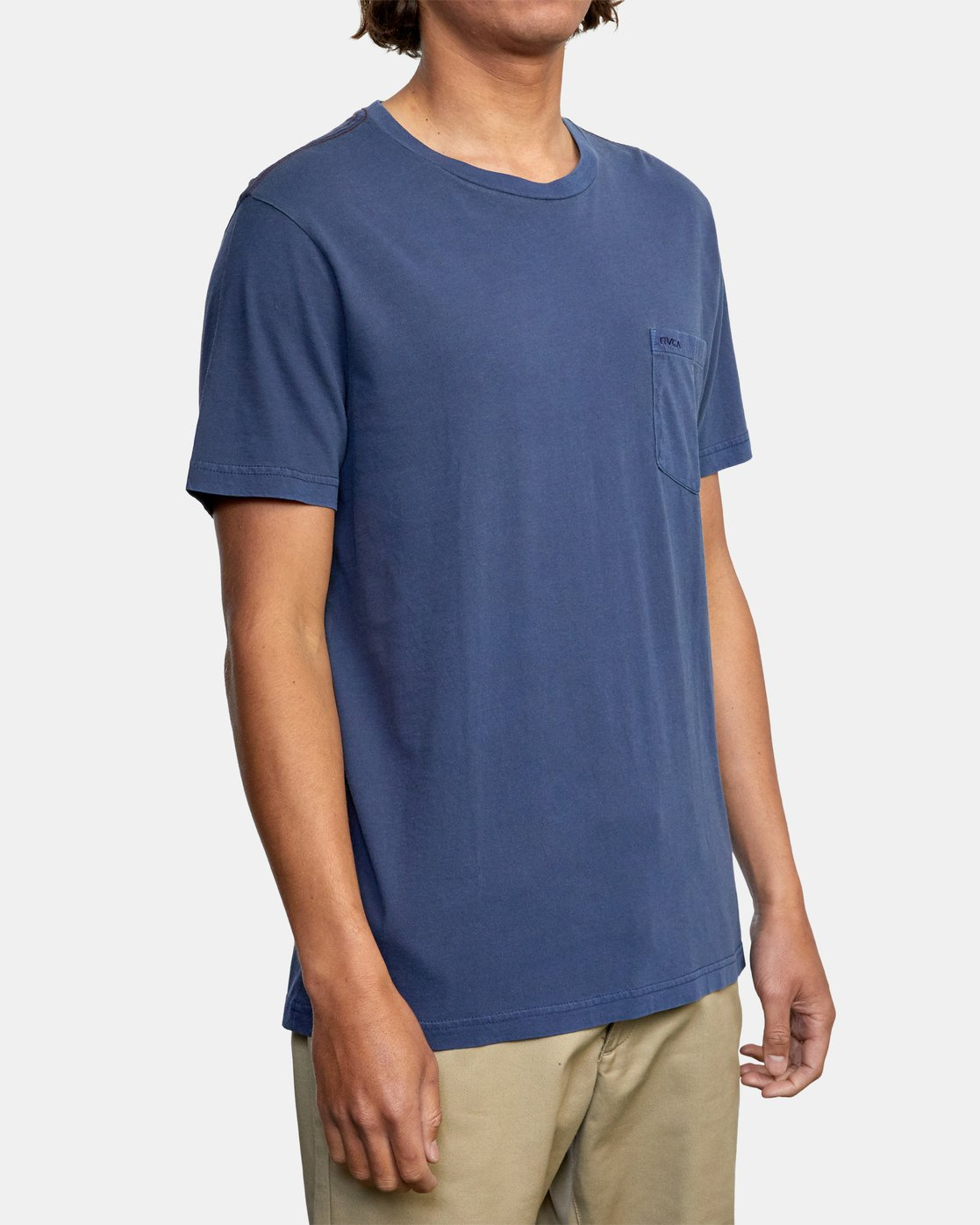 7 Ptc 2 Pigment - Pocket T-Shirt for Men  Q1KTRORVF9 RVCA