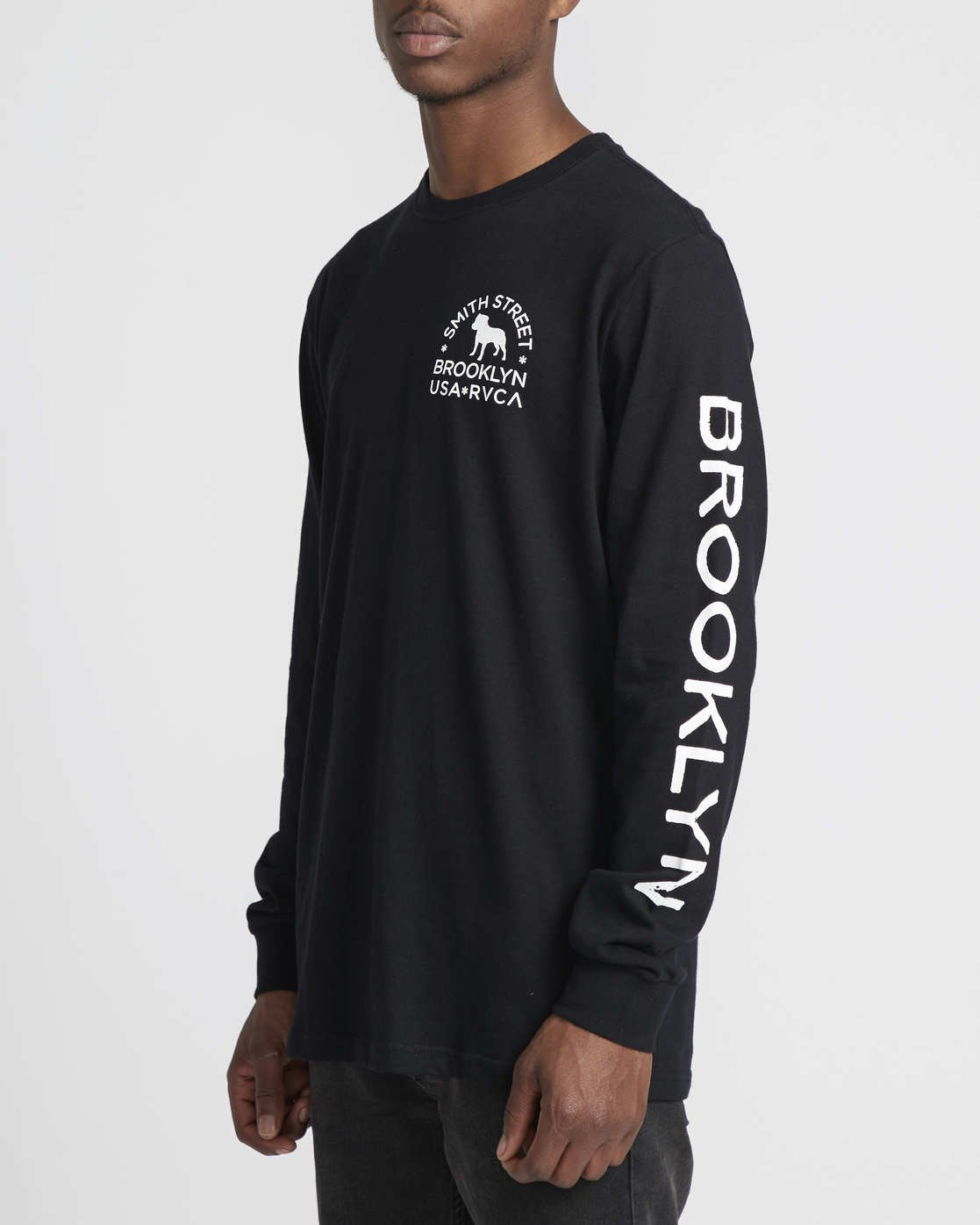 3 Smith Street Wicks  - Long Sleeve T-Shirt for Men Black Q1LSRCRVF9 RVCA