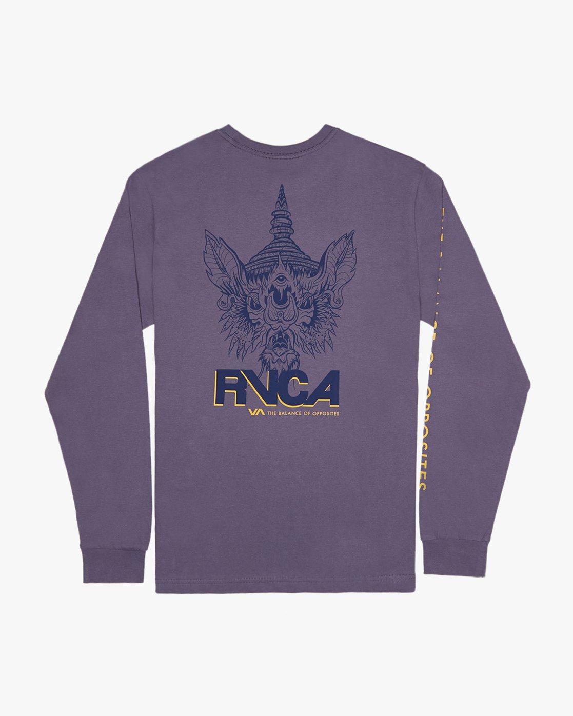 0 Roberto Rodriguez Redondo Screaming Bat  - Long Sleeve T-Shirt for Men  Q1LSRDRVF9 RVCA
