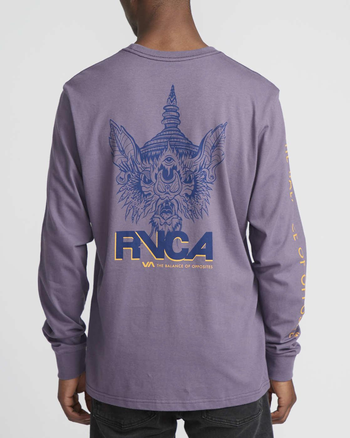 2 Roberto Rodriguez Redondo Screaming Bat  - Long Sleeve T-Shirt for Men  Q1LSRDRVF9 RVCA