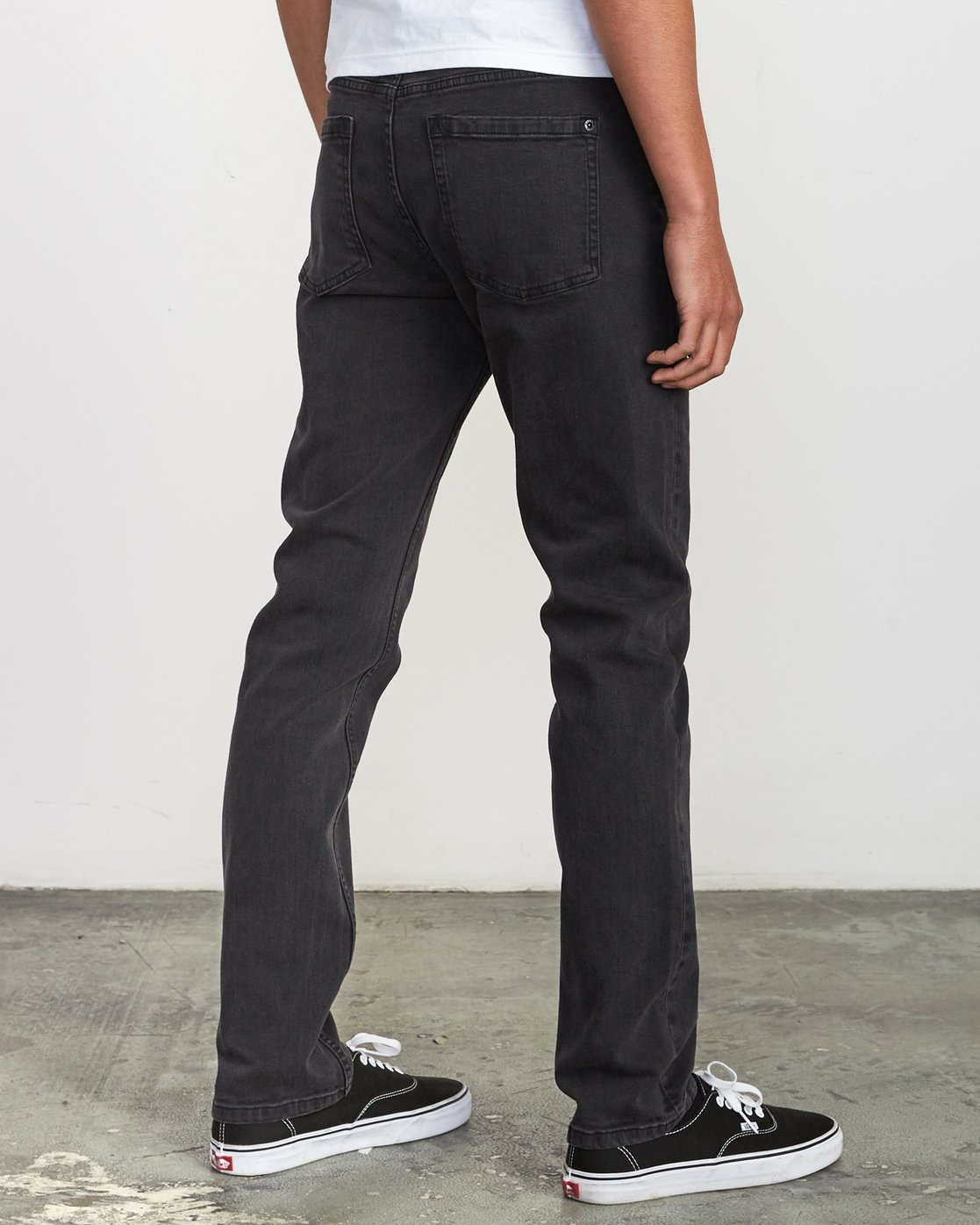 4 Hexed Denim - Jeans in Denim con Vestibilità Slim da Uomo Black Q1PNRCRVF9 RVCA