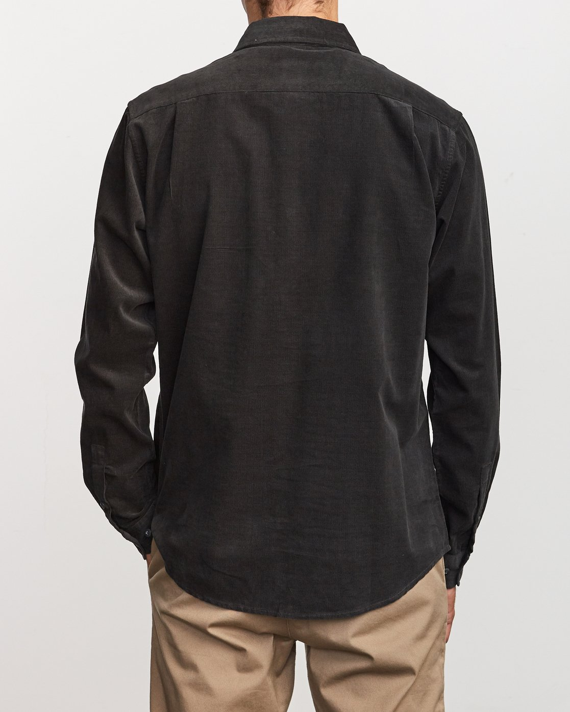 4 Freeman Corduroy  - Chemise à manches longues pour Homme Noir Q1SHRMRVF9 RVCA
