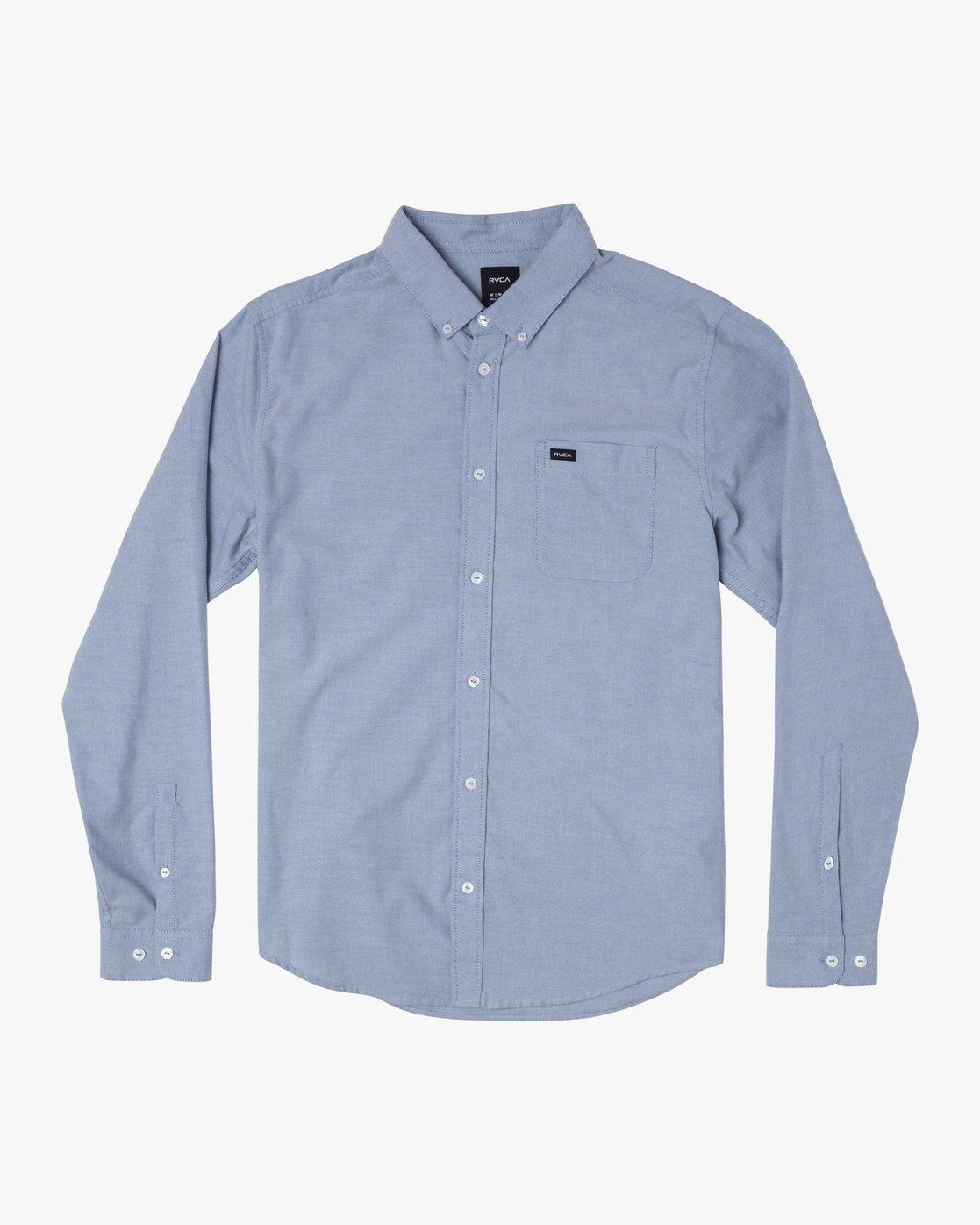 0 Thatll Do Stretch - Shirt for Men Blue Q1SHRNRVF9 RVCA