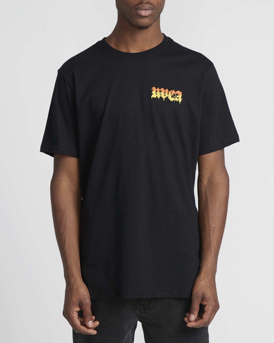 2 Martin Ander Mander  - Short Sleeve T-Shirt for Men  Q1SSRIRVF9 RVCA