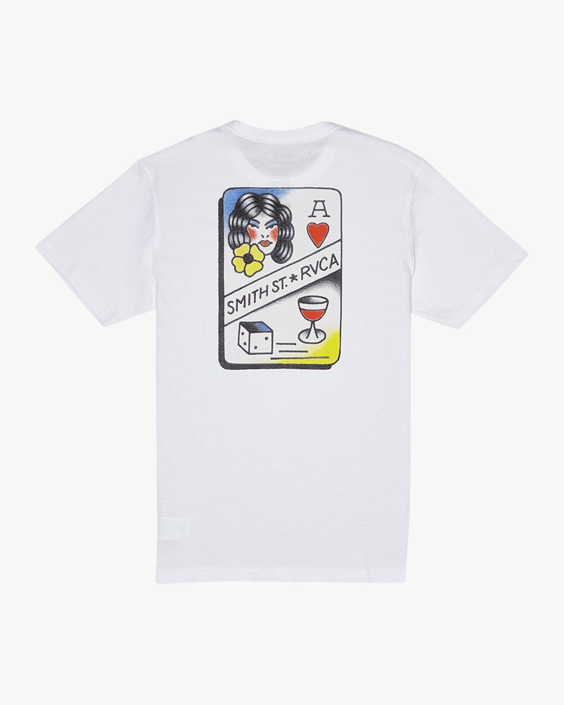 1 Smith Street  - T-Shirt à manches courtes pour Homme  Q1SSRKRVF9 RVCA