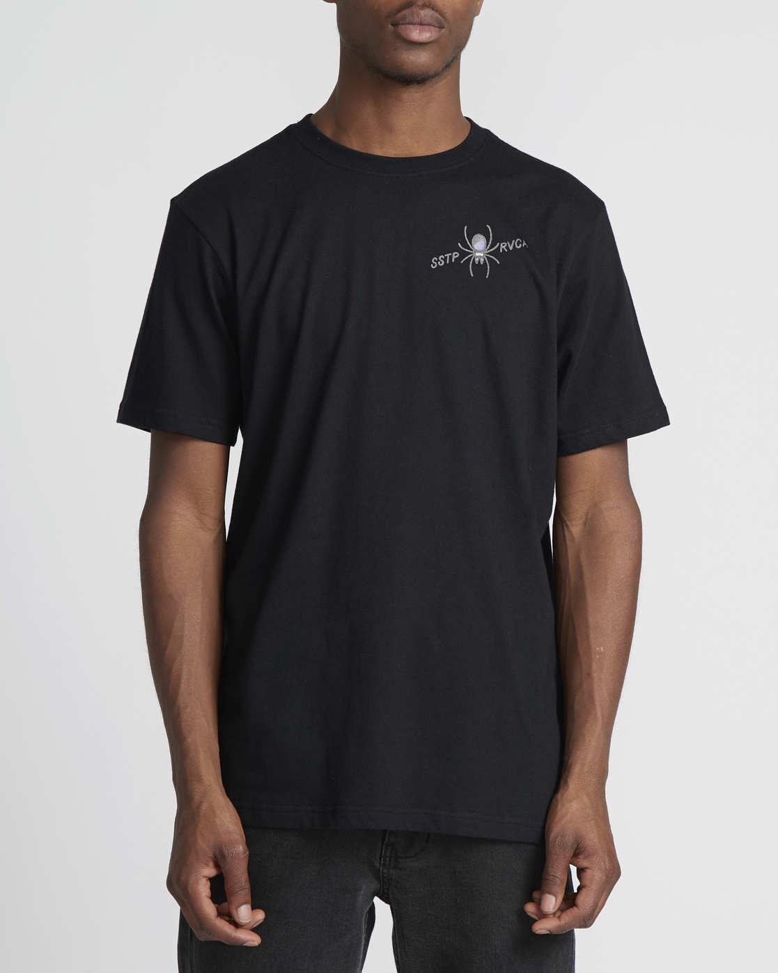 4 Smith Street  - Short Sleeve T-Shirt Black Q1SSRKRVF9 RVCA