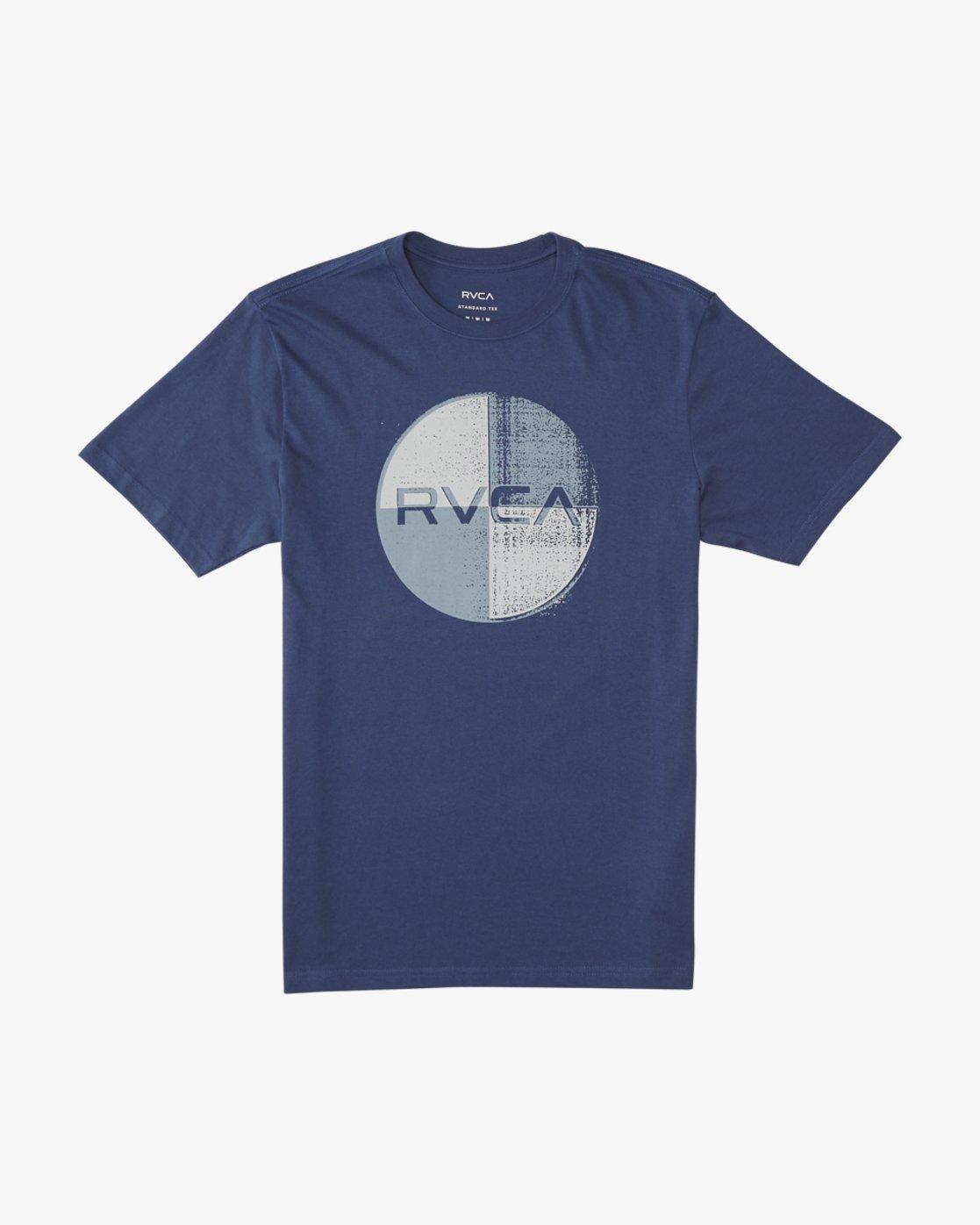 0 Logo Pack  - Short Sleeve T-Shirt Blue Q1SSRLRVF9 RVCA