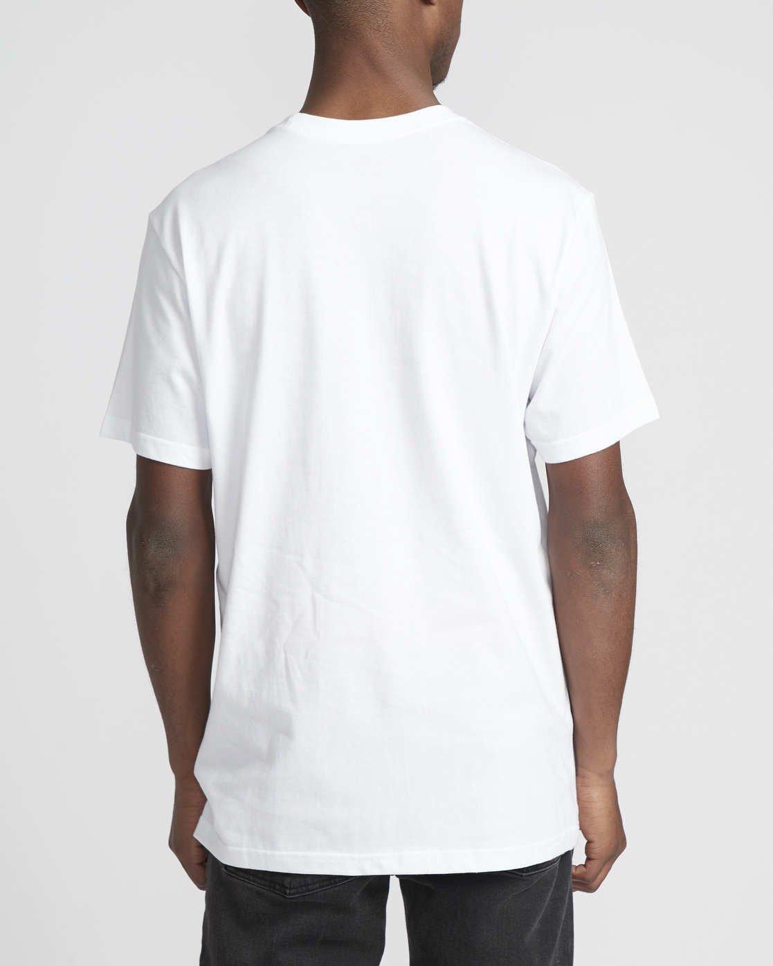 2 Logo Pack  - Short Sleeve T-Shirt White Q1SSRLRVF9 RVCA