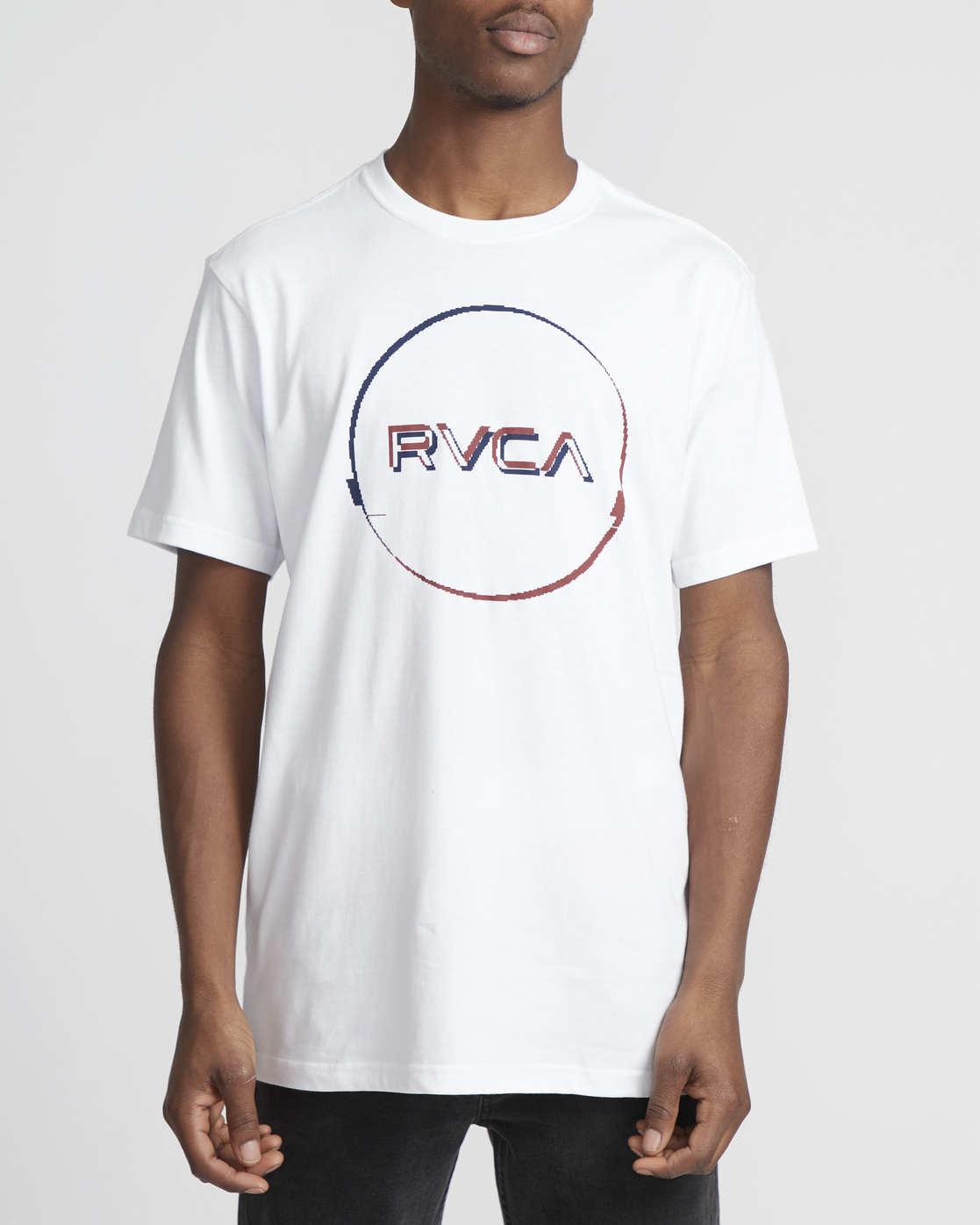 0 Logo Pack  - Short Sleeve T-Shirt White Q1SSRLRVF9 RVCA