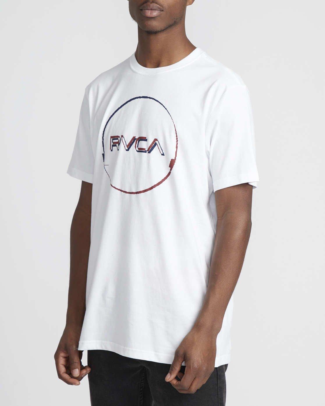 1 Logo Pack  - Short Sleeve T-Shirt White Q1SSRLRVF9 RVCA