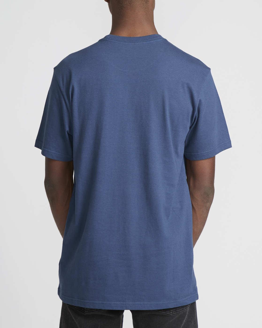 3 Logo Pack  - Short Sleeve T-Shirt Blue Q1SSRLRVF9 RVCA