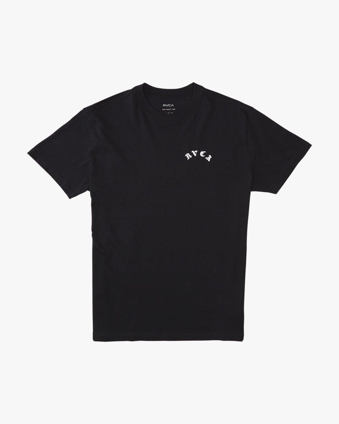 1 Benjamin Jeanjean RVCA Tiger  - Short Sleeve T-Shirt Black Q1SSRORVF9 RVCA