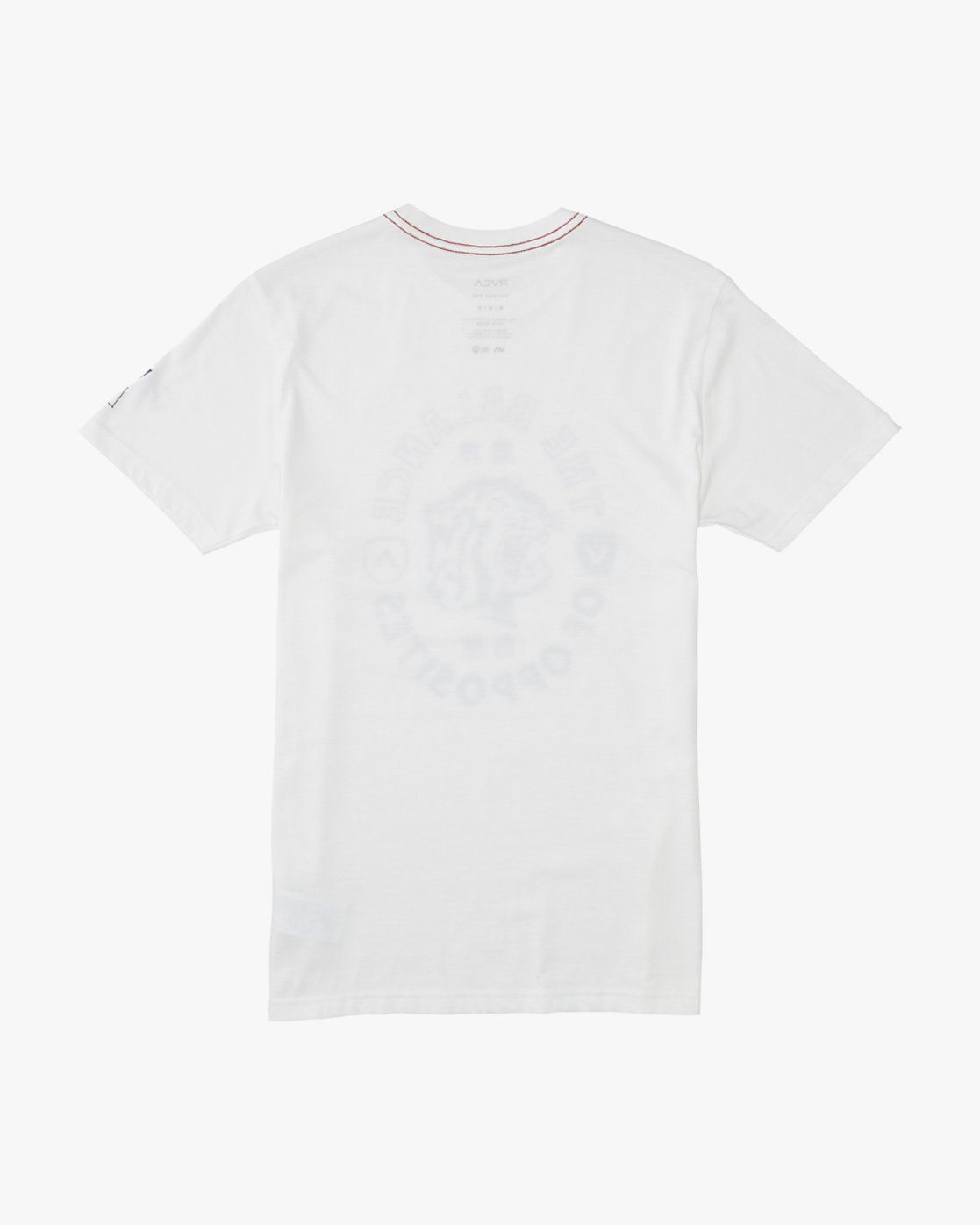 1 Siam  - Short Sleeve T-Shirt White Q1SSRTRVF9 RVCA